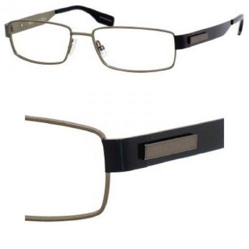 Eyeglasses Boss Black Boss 0374 01O4 Matte Olive Black