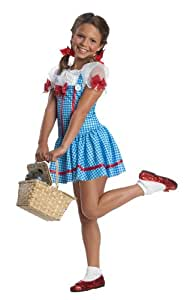 Wizard of Oz, Dorothy Dress Costume - Large