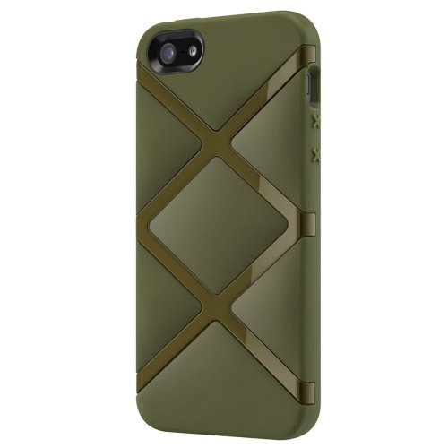 Best Price SwitchEasy SW-BONDI5-GN Bonds TPU Case for iPhone 5 & 5s - 1 Pack - Retail Packaging - Grenade Green
