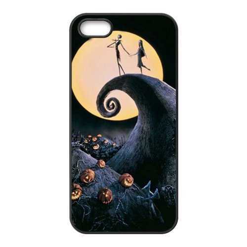 Treasure Design The Nightmare Before Christmas Apple Iphone 5 Best Rubber Cover Case front-713817