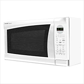 R520LWK Countertop Microwave in White
