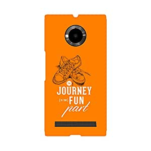 Skintice Designer Back Cover with direct 3D sublimation printing for Micromax Yu Youphoria