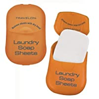 Travelon TSA Carry-on Compliant LAUNDRY SOAP-50 Sheets