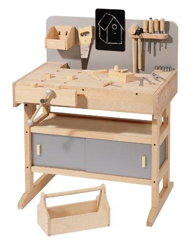 howa banco da lavoro in legno con cassetta attrezzi da 32 pezzi 4900. Black Bedroom Furniture Sets. Home Design Ideas