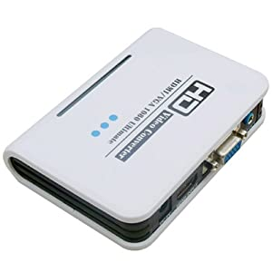 SANOXY HDMI to VGA and Audio Converter