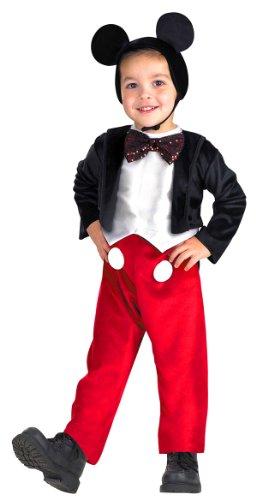 Niños de lujo disfraz de ratón Mickey - Niño Pequeño