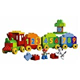 2015 LEGO Duplo 100% Original Big Blocks My First Number Train 10558 Building Blocks Sets Educationa