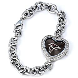 Atlanta Falcons Gametime Heart Bracelet/Watch