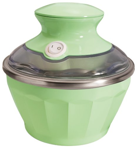 Hamilton Beach Half Pint Soft Serve Ice Cream Maker, Pistachio