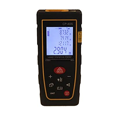 Neon 40m 131ft Laser Distance Meter Bubble Level Tool Rangefinder Tape Measure Area/Volume Tool