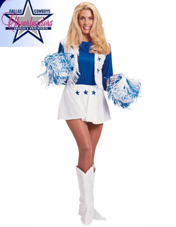 Sexy Dallas Cowboy Cheerleader Costume - MEDIUM