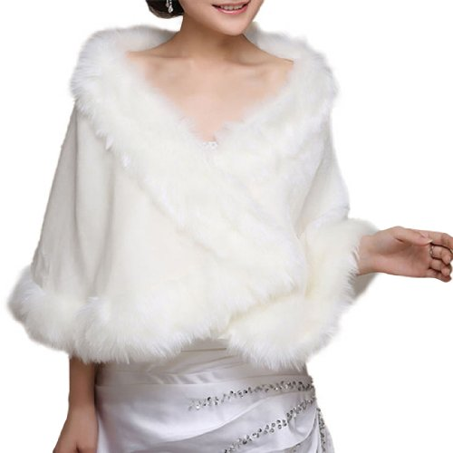 LISTEN TO ME Women's New Stole Shawl Bridal Wedding Dress Accessory Plus Size