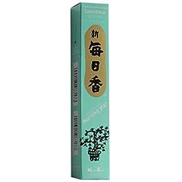 Diseño de aromática con forma de estrella de alta calidad de incienso de Nippon Kodo - varillas de incienso 50 + soporte