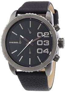 Diesel Herren-Armbanduhr XL FRANCHISE 42 Chronograph Quarz Leder DZ5329