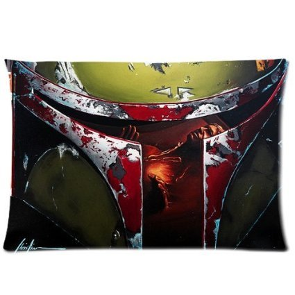 "Perfect Arts Popular Star Wars Boba Fett Unique Custom Zippered Pillow Cases ""20X30"" Inches (Two Sides)"