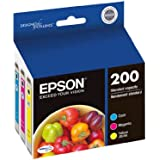 Epson T200520 DURABrite Ultra Standard-Capacity Color Multipack Ink Cartridge