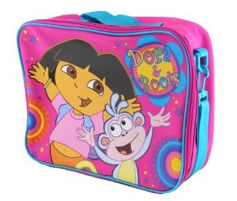 Dora the Explorer Messenger Bag - Dora Extra Large Lunch Bag