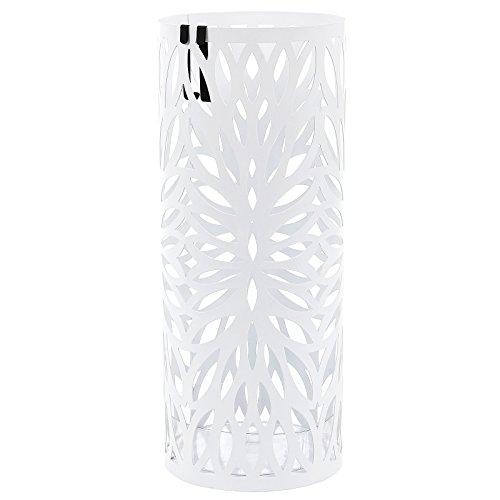 Songmics porta ombrelli portaombrelli 49 cm bianco in for Amazon portaombrelli