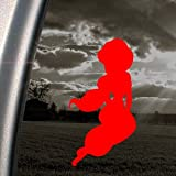 Jusmine Princess Disney Red Decal Truck Window Red Sticker