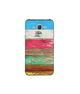 Kolor Edge Printed Back Cover For Samsung Galaxy On7 - Multicolor (8022-Ke10910SamOn7Sub)