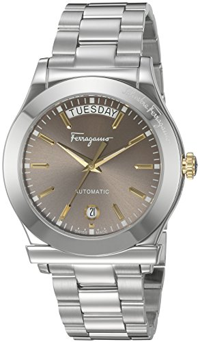 Salvatore-Ferragamo-Mens-1898-LE-Swiss-Quartz-Stainless-Steel-Casual-Watch-ColorSilver-Toned-Model-FFQ010016