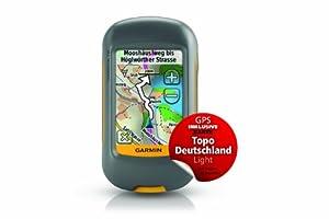 Garmin BUNDLE GPS-Handgerät Dakota 10 + Topo Deutschland Light, grau, 010-00781-07