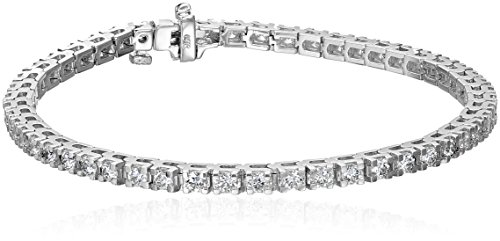 IGI-Certified-14k-White-Gold-4-Prong-Diamond-Tennis-Bracelet-3cttw-H-I-Color-I1-Clarity-7