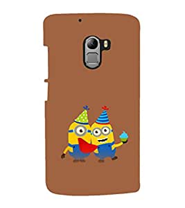 printtech Minions Birthday Back Case Cover for  Lenovo K4 Note A7010a48, A7010
