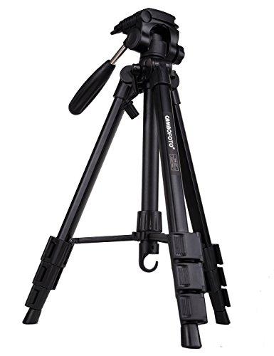 Camera-Tripod-CAMBOFOTO-Professional-SLR-Camera-Aluminum-Travel-Portable-Folding-Tripod-for-Canon-Nikon-Sony-DV-Video-DSLR-Camera-with-Carry-Bag