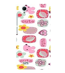 PrintVisa Corporate Print & Pattern Modern Art Cute 3D Hard Polycarbonate Designer Back Case Cover for VivoY31L
