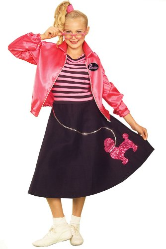Teen Fifties Pink Poodle Skirt Costume by Forum Novelties