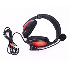 New SM-770mv Headphone Headset Microphone With Red