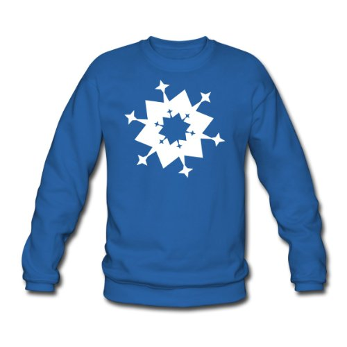 Spreadshirt, schnee4_1f, Men's Sweatshirt, royal blue, L