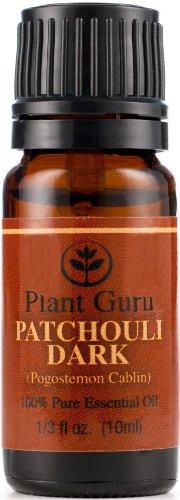 Patchouli Essential Oil (Dark) 10 Ml. 100% Pure, Undiluted, Therapeutic Grade.