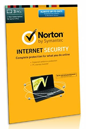 Norton Internet Security 21.0 - 3 Computers, 1 Year Subscription (PC) [2014 Edition] [Frustration-Free Packaging]