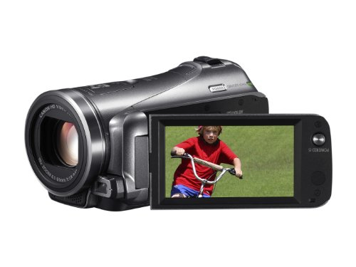 Canon LEGRIA HF M406 High Definition Camcorder - Silver (10x Optical Zoom, 3 inch Touchscreen LCD)