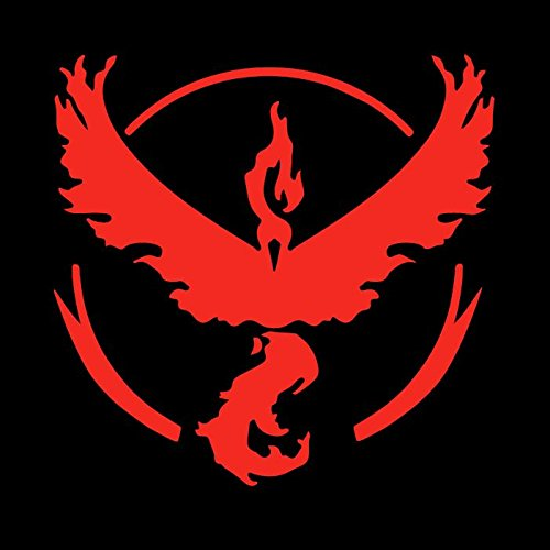Team Valor Pokemon GO - Red Vinyl Decal