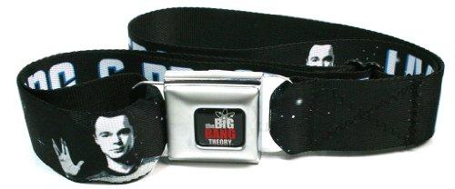 Star Trek X Big Bang Theory Long Live Sheldon Seatbelt Belt
