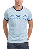 JACK WILLIAMS Camiseta Manga Corta (Azul Claro)