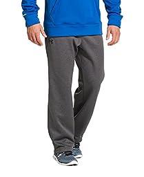Men\'s Under Armour Storm Armour Fleece Pants, Carbon Heather (090), Large