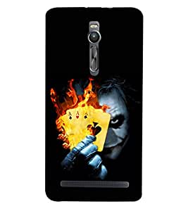 Doyen Creations Designer Printed High Quality Premium case Back Cover For Asus Zenfone 2