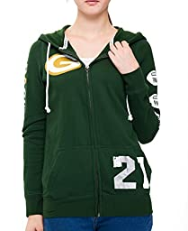 Womens Green Bay Packers Pink Victoria\'s Secret Hoodie Large