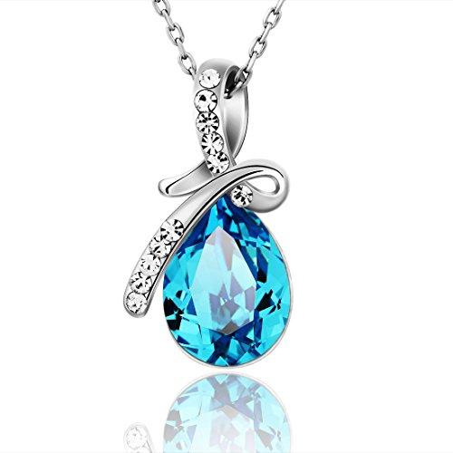 Neoglory Jewellery Made  Swarovski Elements Blue