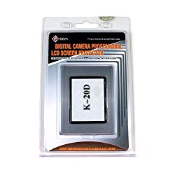 GGS DSLR LCD Optical Glass Screen Protector for Pentax K20D camera