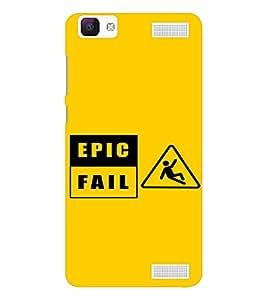 EPICCASE Epic Fall Mobile Back Case Cover For Vivo V1 Max (Designer Case)