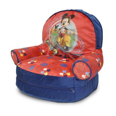 Mickey Mouse Kids Novelty Chair with Storage partment