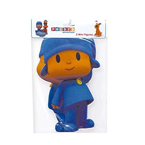 Pocoyo - 2 mini figuras, 30 cm (Verbetena 016000395)