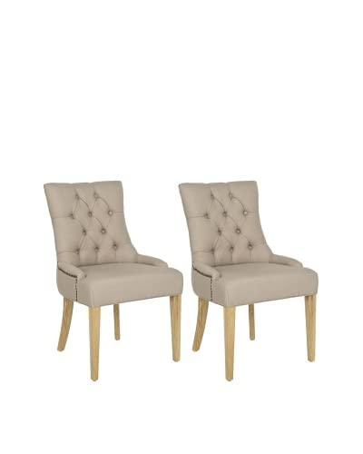 Safavieh Ashley Side Chairs (Set Of 2), Taupe
