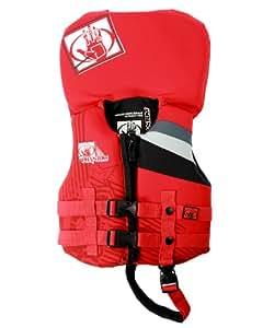 Body Glove Infant's Phantom U.S. Coast Guard Approved Neoprene Pfd Life Vest (Red/Black)