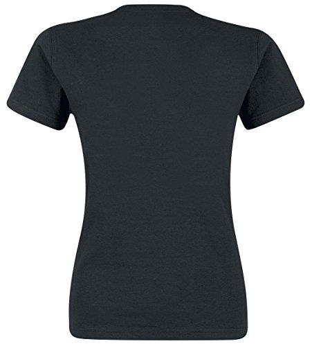 CID Pierce the Veil-Arrows, T-Shirts Donna, Black, X-Large